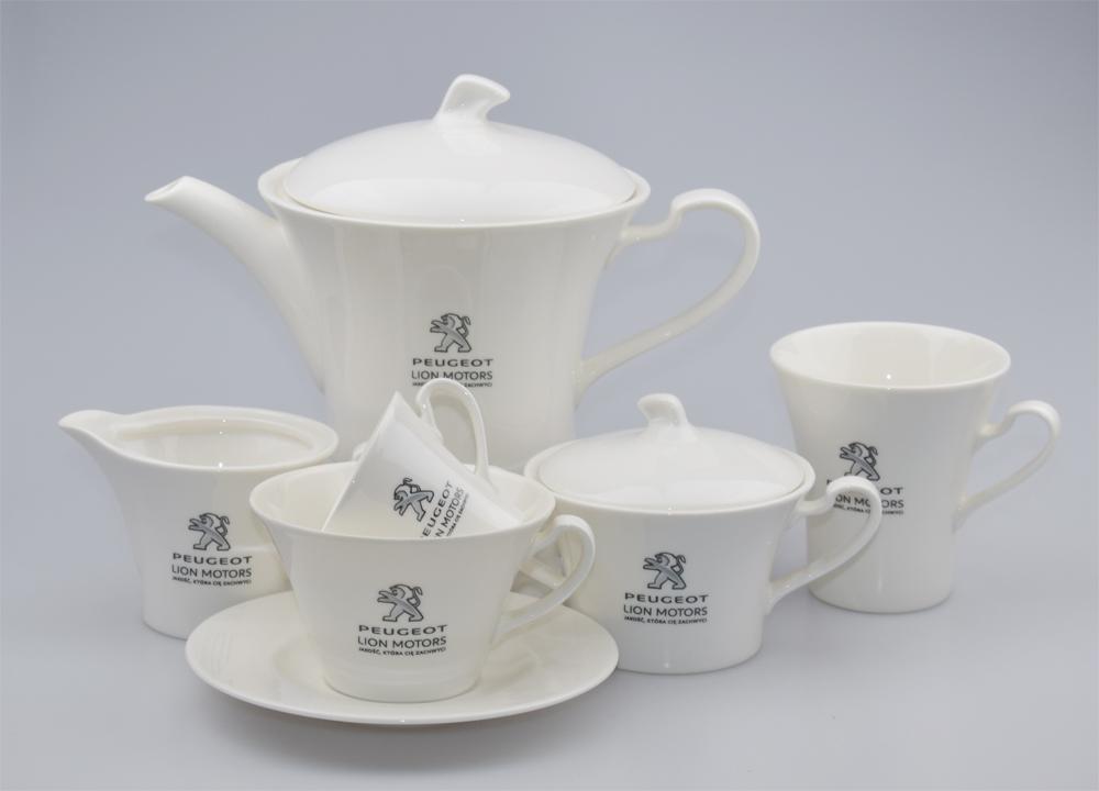 Zestawy ceramiczne, filiżanki
